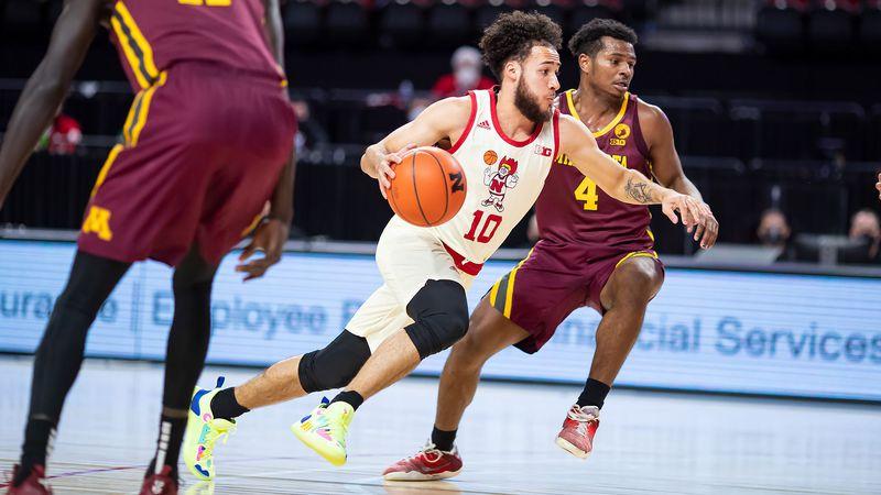 Kobe Webster had a season-high 23 points and five assists, as Nebraska rallied back from a...