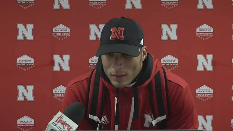 Collin compares how Huskers played today as opposed to last year