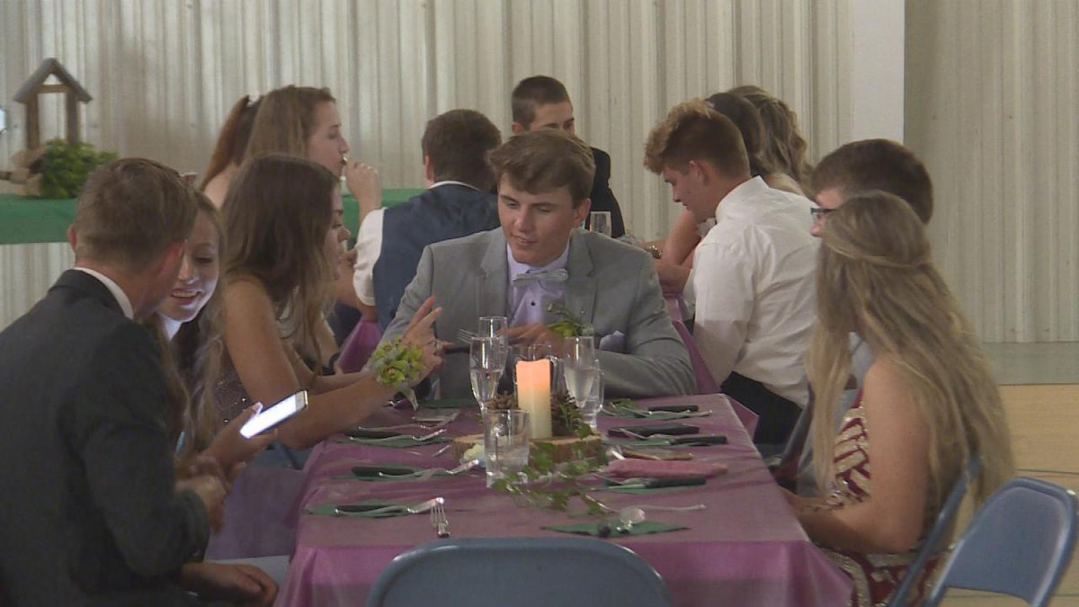 Callaway and Arnold students were treated to a summer prom.