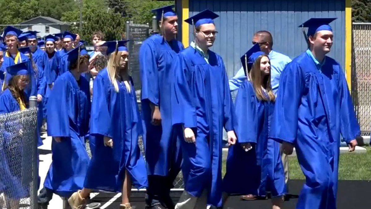 Governor Pete Ricketts says a high school graduation ceremony will happen in Nebraska only if...