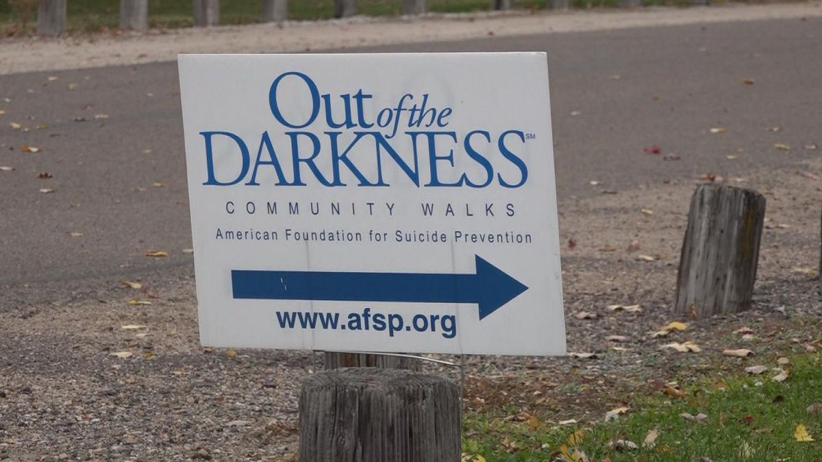 Out of the Darkness event held on October 11, 2020