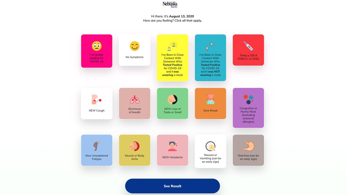 The Campus Clear app allows users to self-monitor for COVID-19 symptoms each day by taking a...