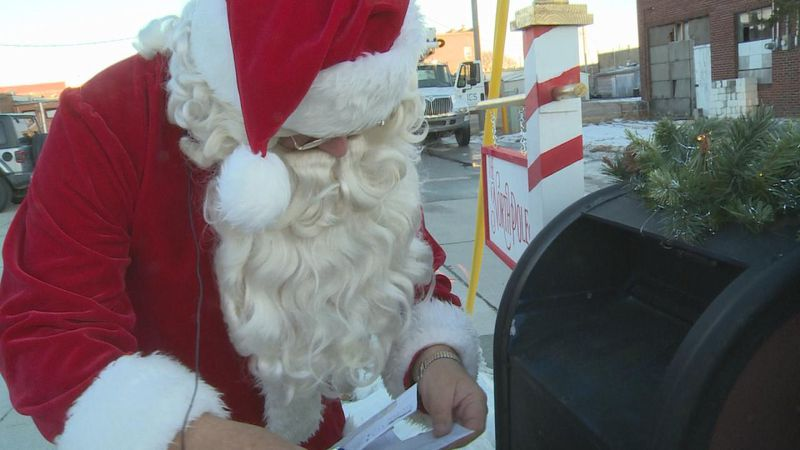 Santa's mailbox is providing the magic of Christmas for children in Cozad.