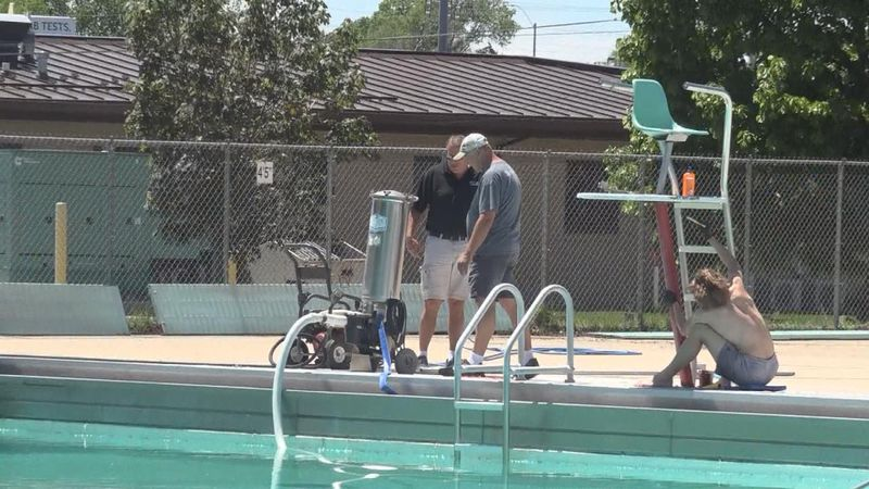 Cody Park Pool staff are getting the pool ready for opening day on June 1st. A soft opening...