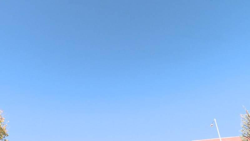 Sunny and beautiful skies encompasses the region