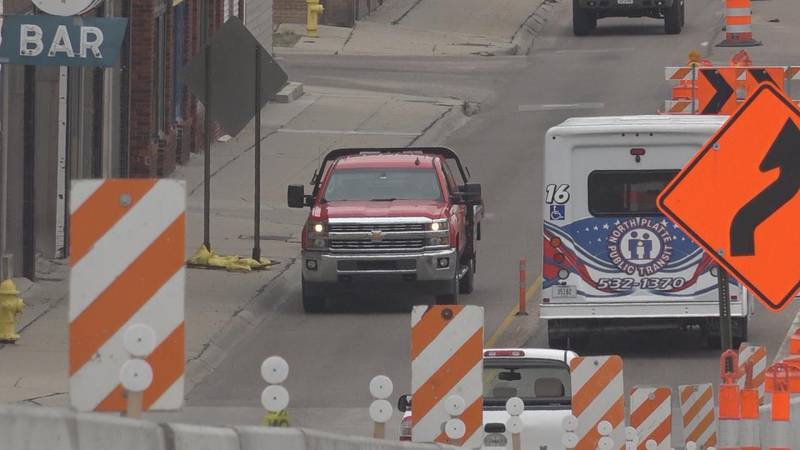 Work will be suspended on the US-83 Jeffers Street Viaduct in North Platte June 15 through June...
