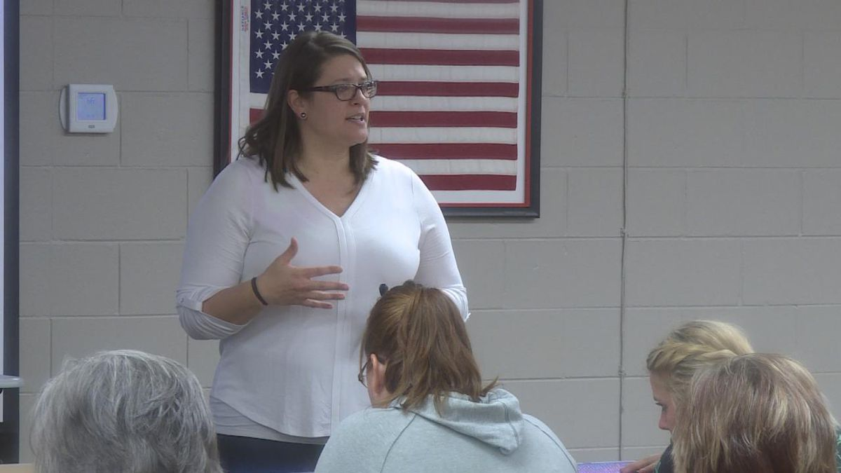 Dr. Felicity Post discusses ways teachers can incorporate life long skills in the classroom to help students develop social and emotional life long skills. She says these skills will help them throughout their lives and not just in the classroom. (SOURCE: Kaylie Crowe KNOP-TV)