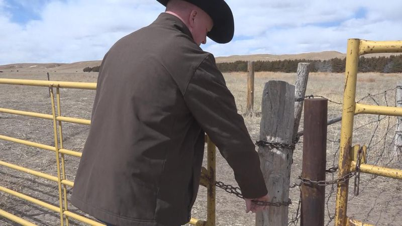 McPherson County rancher Rusty Kemp says the proposed meat packing plant, Sustainable Beef,...