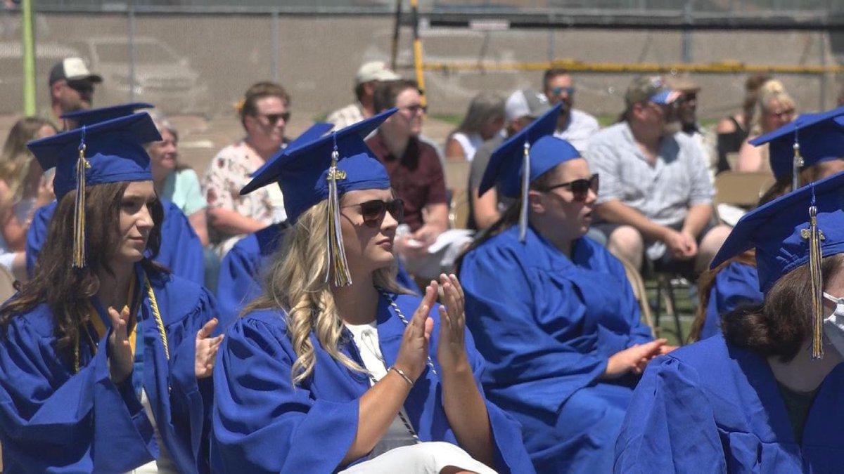North Platte High School graduates class of 2020 Saturday.