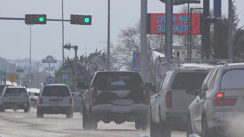 The Nebraska State Patrol urges motorists to stay with your vehicle in cold temperatures.