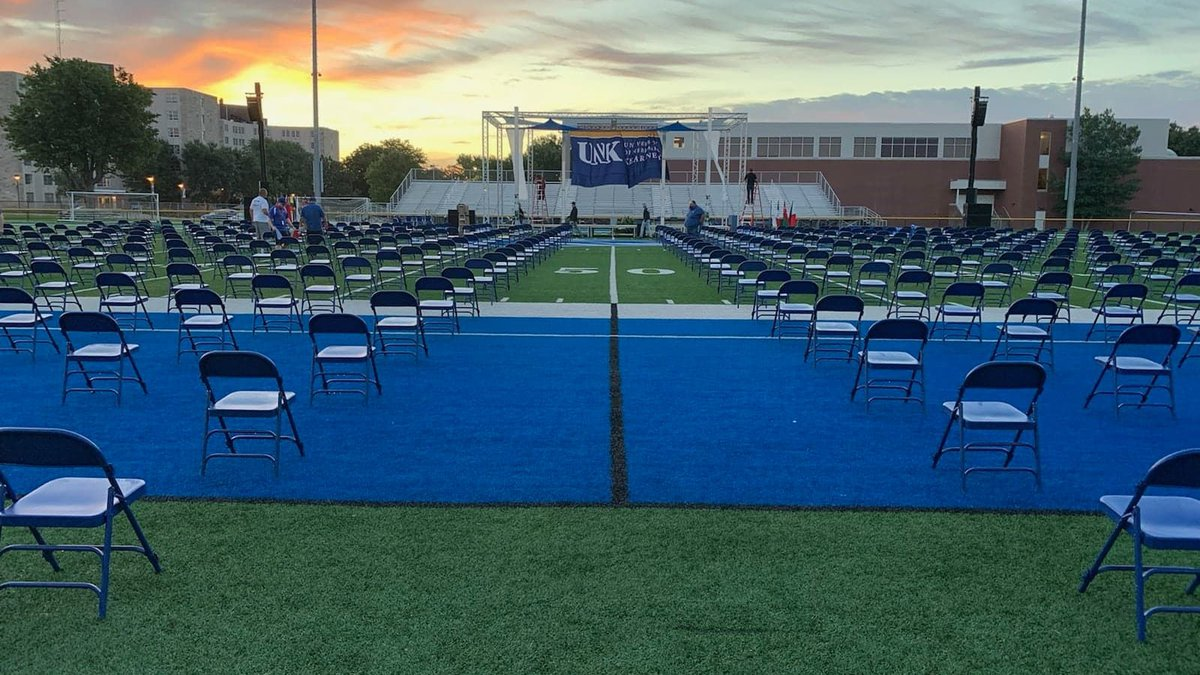 UNK is set to host an outdoor commencement ceremony for the first time in three decades....