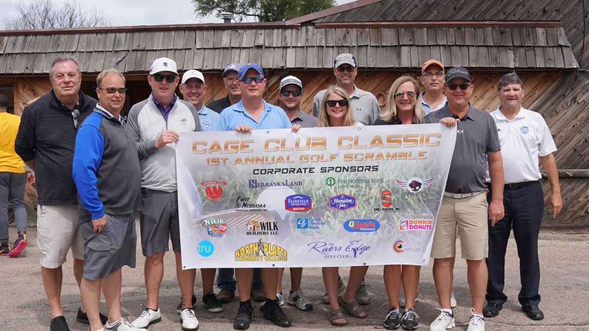 The Knights Cage Club Four-Person Golf Scramble would not have been possible without the...