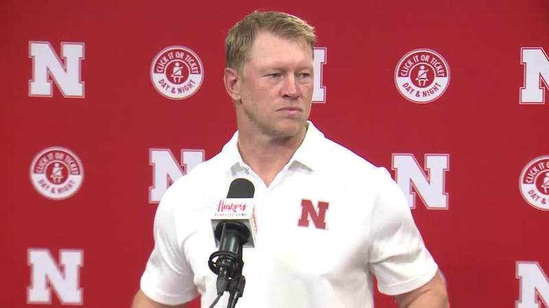 Scott Frost during the game week press conference on Monday, August 23, 2021.