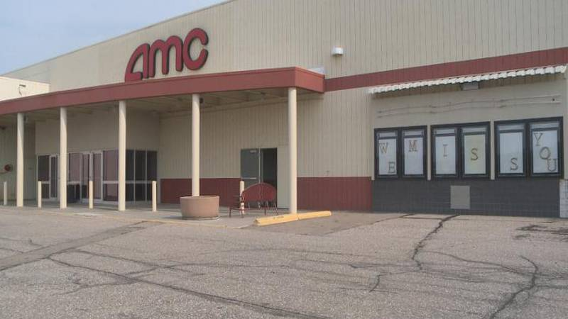 Renovations are underway for Golden Ticket Cinema in the Platte River Mall.