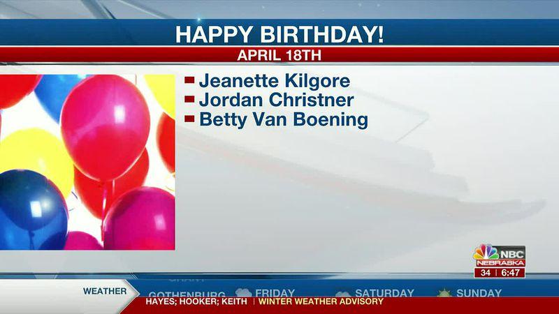 Happy April 16th, 17th, and 18th Birthdays!!