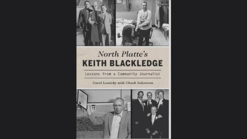 Former North Platte Telegragh Editor Keith Blackledge will be honored during a book launch and...