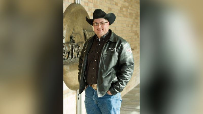 Saying good-bye to Garrett Nokes. His funeral is being streamed online Saturday. (Credit:...