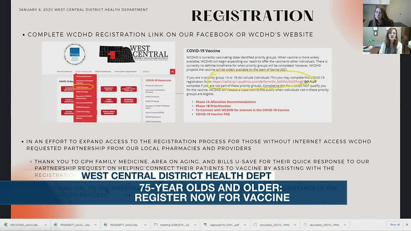Vaccine distribution moves into Phase 1B in the WCDHD