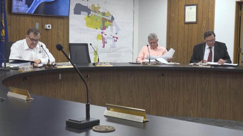 The Community Redevelopment Authority approved the contract terms for the Platte River Mall's...