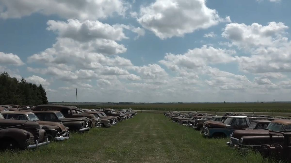 Aschoff Auction Company is holding an auction for a Norfolk man's car collection. It's something he's been working on for decades. (Source: News Channel Nebraska)