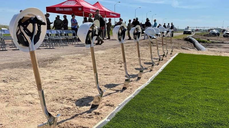 Groundbreaking for NE National Guard facility to be built in North Platte.