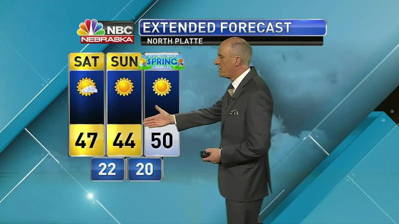 More mild weather expected into the weekend and next week.