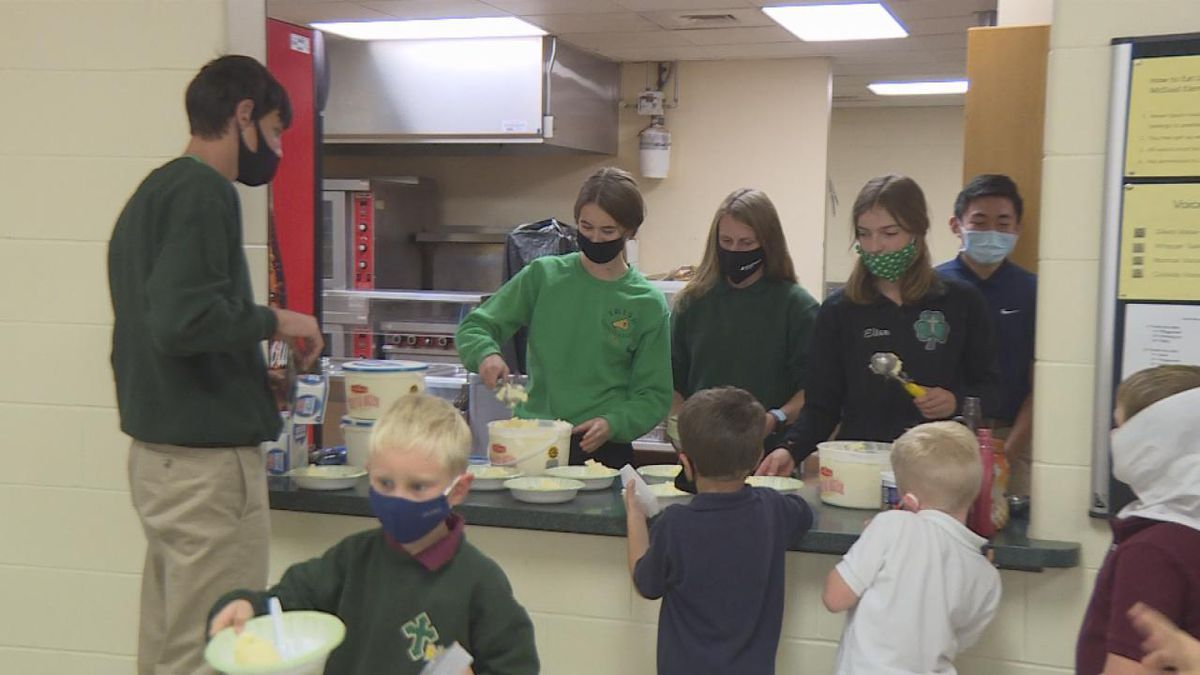 Make a Wish fundraiser celebrated with ice cream