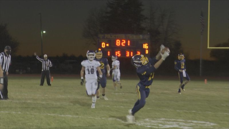 Paxton football defeated S-E-M in overtime on Friday night.