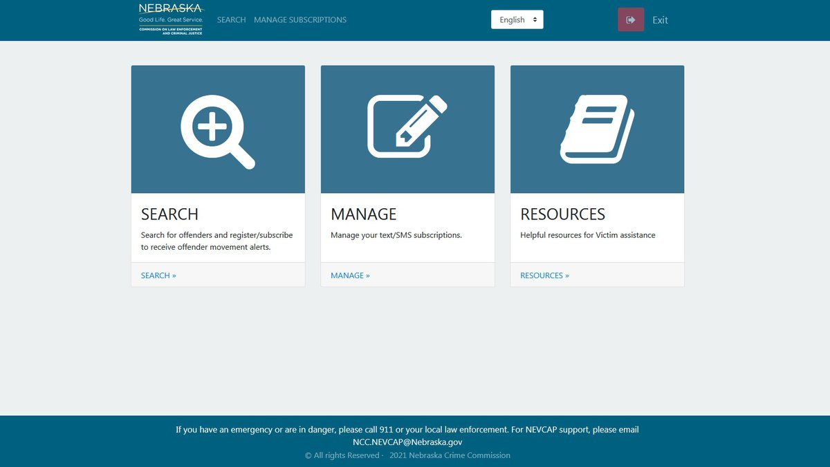 Nebraska's Crime Commission recently launched NEVCAP, a new site for victims of crime to track...