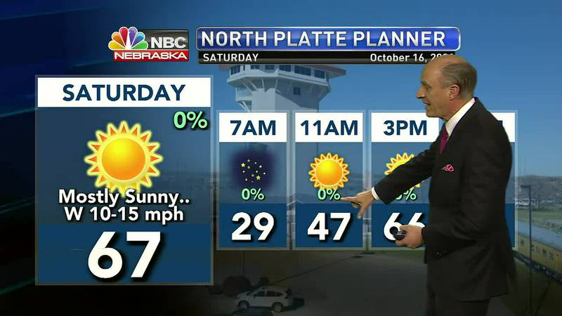 Chilly temperatures into Saturday morning with sunshine and milder weather by the afternoon.