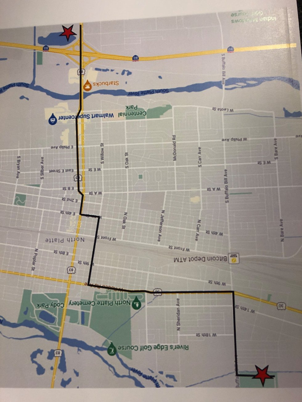 Funeral Procession Route, Saturday