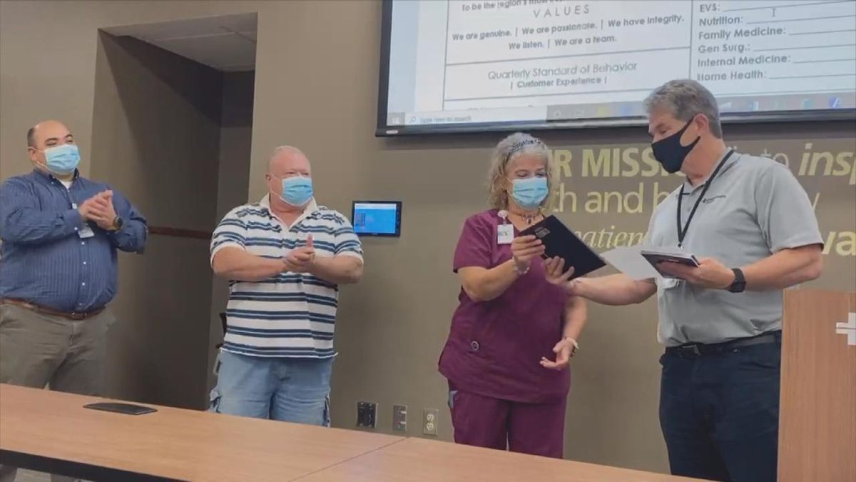 Great Plains employee receives Caring Kind Award
