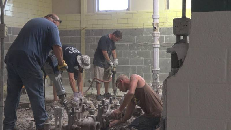 Saint Patrick's High School continues with capital improvement projects.