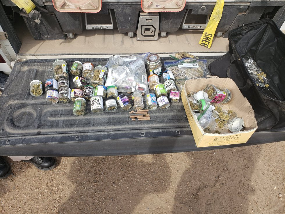 Drugs confiscated in high speed chase