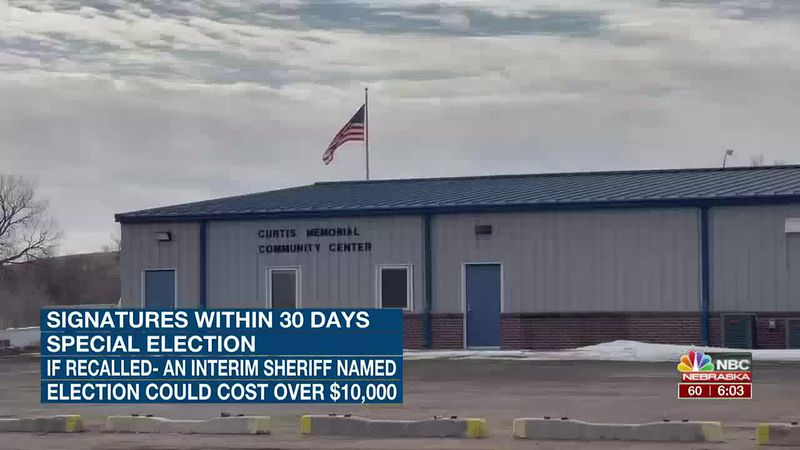 Petition filed to begin process to recall Frontier County Sheriff