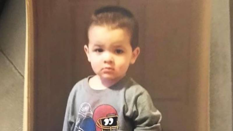 Cheyenne police said two-year-old Athian Rivera was found dead Friday afternoon.