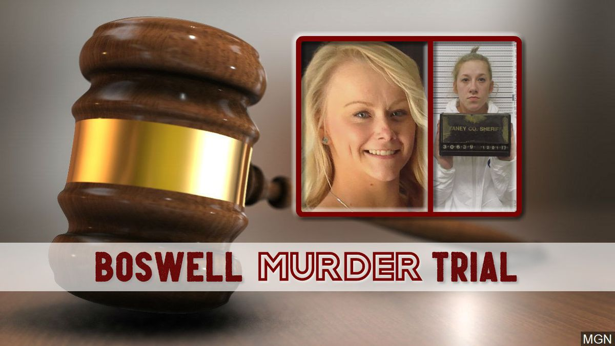Bailey Boswell is going to trial, accused with the first degree murder of Sydney Loofe in 2017.