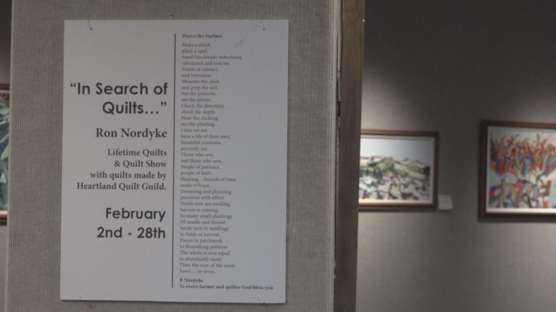 In Search of Quilts exhibit