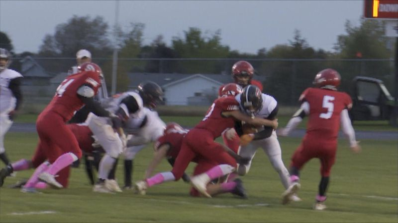 Sutherland football dominated on both sides of the ball Thursday night.