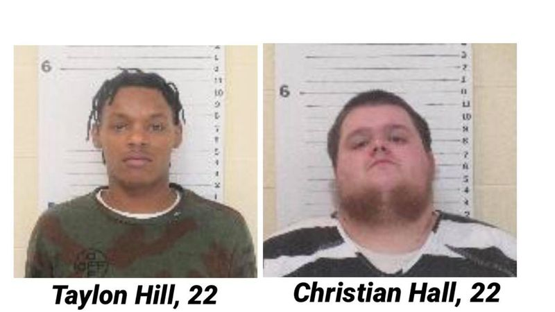 Hill and Hall, from out-of-state, jailed in North Platte for leading Nebraska State Patrol on...