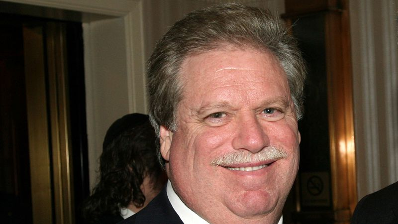 FILE - In this Feb. 27, 2008, file photo, Elliott Broidy poses for a photo at an event in New...