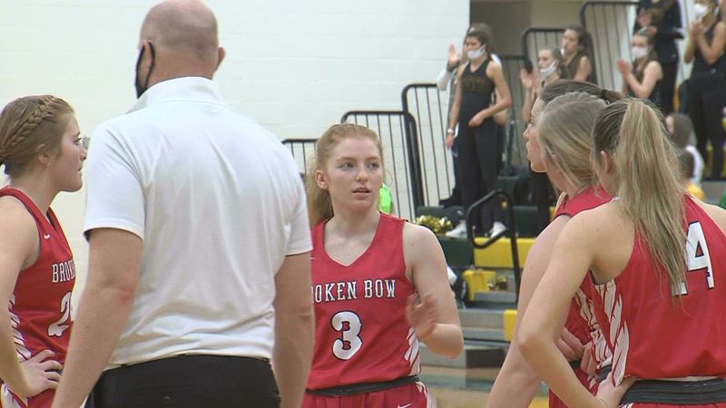 Broken Bow girl's basketball stayed undefeated with the win on Thursday night.
