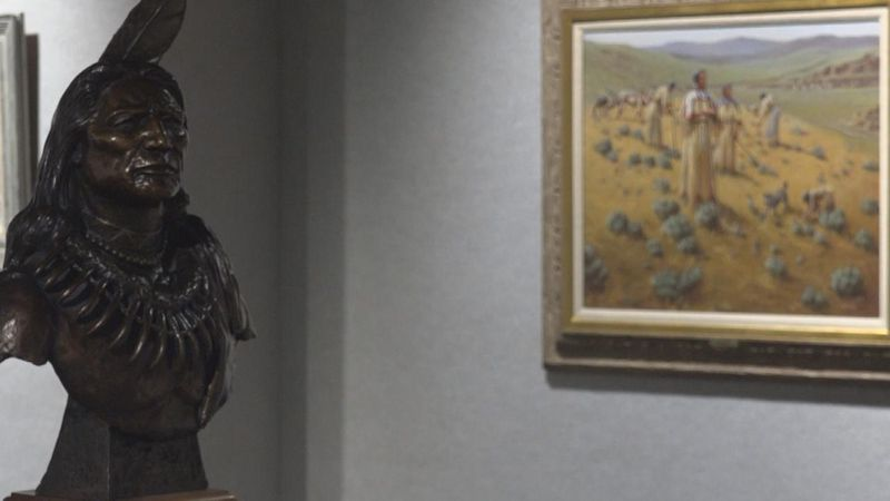 The Ted Long Exhibit returns for the month of January at the Prairie Arts Center.