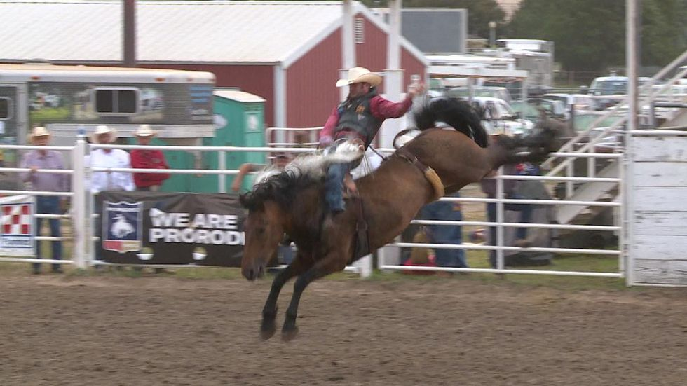 Fourth and final night of Buffalo Bill Rodeo takes place