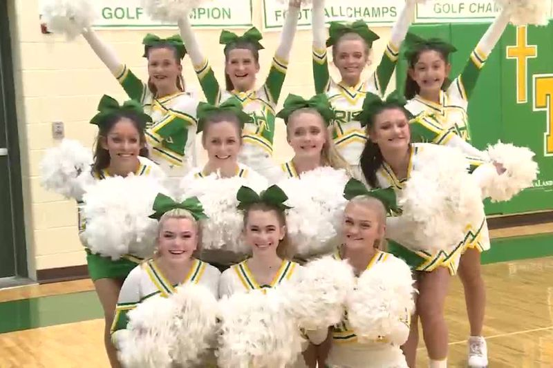 St. Pat's Cheer program wins two titles