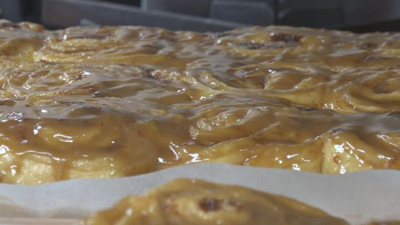 The Sweet Saloon Cinnamon Rolls are selling out fast this year. The money raised goes to help...