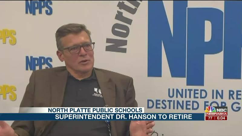 Dr. Hanson announces retirement.