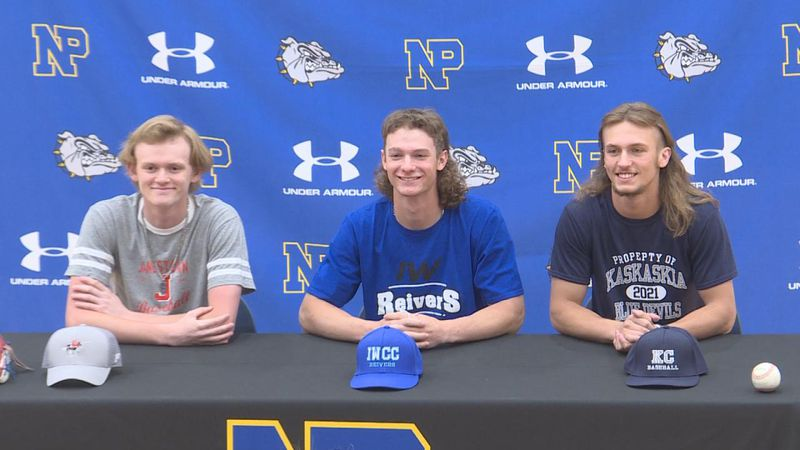 Seven North Platte Students signed their NLI's today,, committing to continue competing at the...