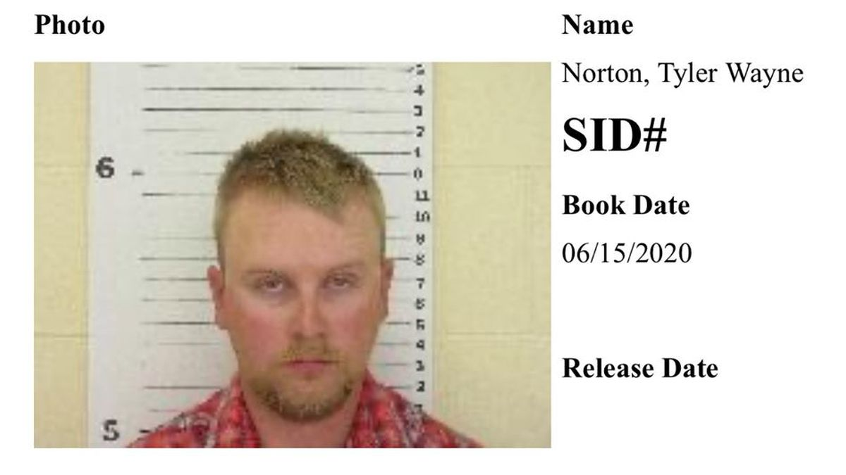 """Tyler Norton, 26, of Evans, Colorado believed he was meeting a 15-year-old. The """"girl"""" was actually an undercover an NSP investigator. (SOURCE: Lincoln County Sheriff's Office)."""