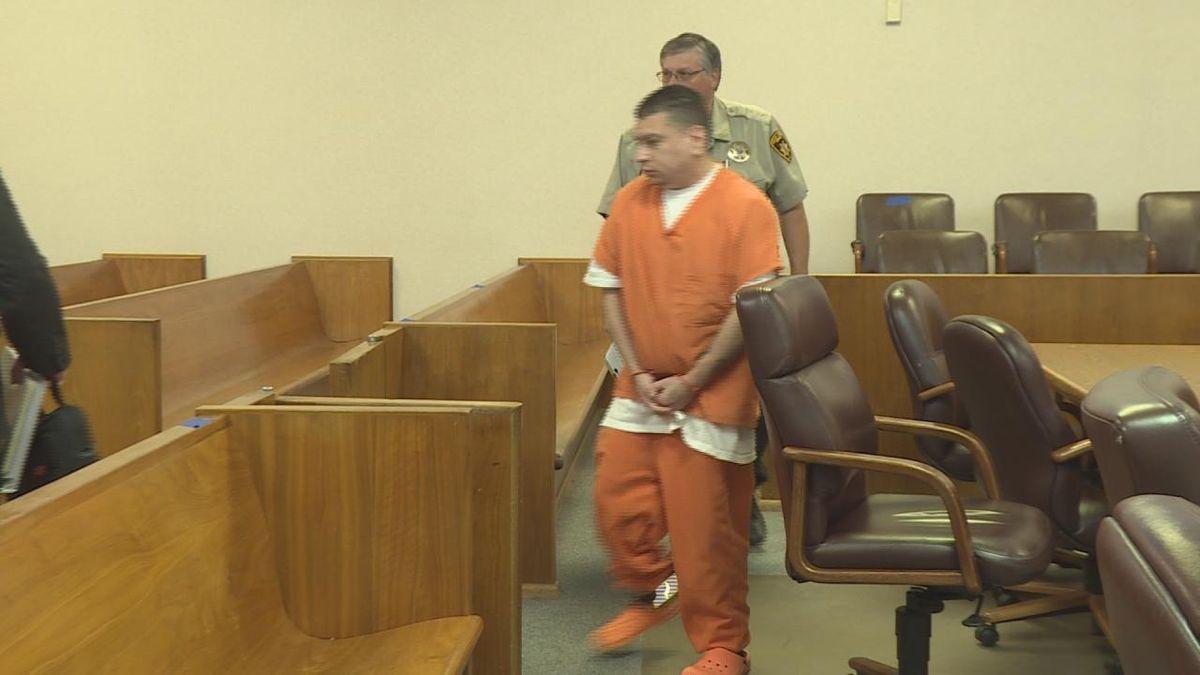 Derrera appears in court